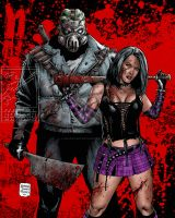 HACK/SLASH by MalevolentNate