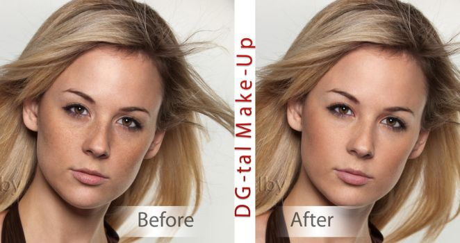 DG-tal make up 2  sharing result by anour93