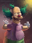 Krusty the Clown by FoxShift