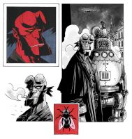 Hellboy by klarens