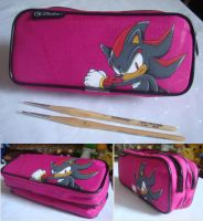 Shadow Pencil Case by Sega-Club-Tikal