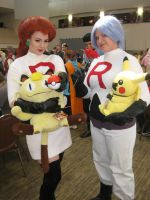 Team Rocket Anime Detour by lilburi4ever
