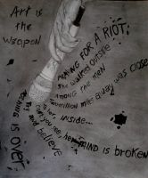 Praying For a Riot by UnearthedSoul