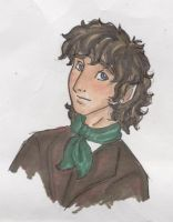LOTRs: OLD ART Drogo Baggins by TheMadWoman-Ellie
