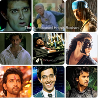 The various looks of Hrithik Roshan by UNoWhoOwnsArt