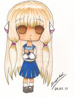 Chobits: Chibi Chi by aaamaaa