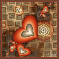 Vintage Hearts by miincdesign