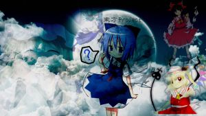 Touhou Wallpaper by For3st-NinJa