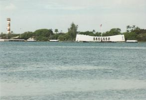 USS Arizona Pearl Harbor by DaemonAngel