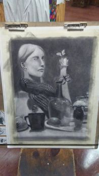 Charcoal Still Life Final by nystromgina1