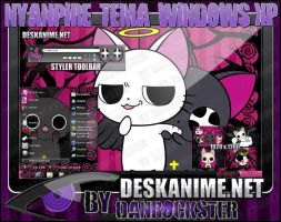 Nyanpire Theme Windows XP by Danrockster