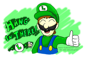 Luigi: Hang in There! by Xero-J