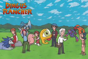 Dingus Rancher by Yamallow