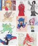 My Manga Drawings by Lanagh by Kaylimepie