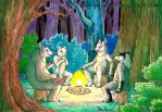 Stories by the Campfire by Penguinity