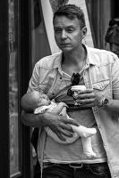 Coffee and baby by attomanen