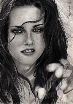 Kristen Stewart by cindy-drawings