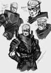 Human Garrus Doodle by AnimeFreak00910