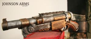 Steampunk Barrel Break IX by JohnsonArms