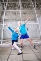 Adventure Time - Finn cosplay! *W* by MikyOuji-Sama