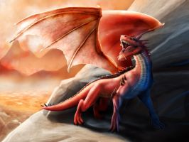 Red Dragon by raulovsky