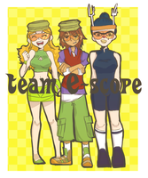 We are Team E-scope by Lupamannara36