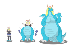 Dragon Sequence by Gemble