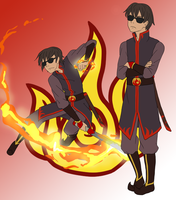 Fire Nation:  Dave Strider by Kamden