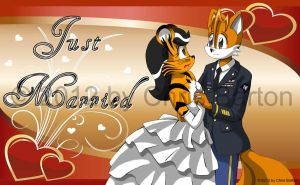 Just Married! by thedesertkitsune