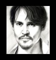 Johnny Depp by emizael