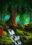 Under The Weeping Willow by Halli-well