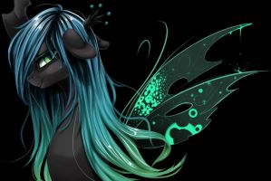 Queen Chrysalis by Santagiera