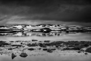 Hardangervidda Lake 4 | Norway by JacktheFlipper-de