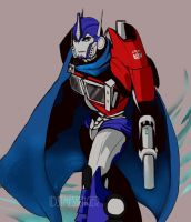 CAPE MONTH DAY 6: Optimus Prime (TFP) by IDSTMessenger
