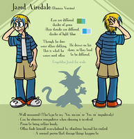 Human Jared Reference Sheet by meggyc