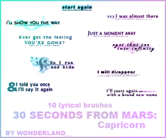 30 Seconds to Mars - Capricorn by Foxxie-Chan