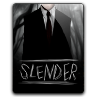 Slender man icon 1 by Joshemoore