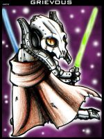 Chibi General Grievous by Chibi-Goat
