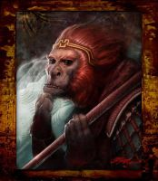 monkey king by capsiongman81