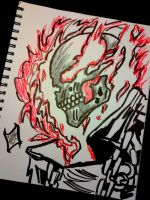 Ghost Rider drawing by IGMAN51