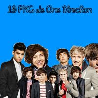 Pack 10 PNG de One Direction PEDIDO by Selenailoveyou