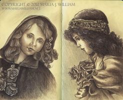 Sketchbook 21: Vintage #2 by MJWilliam