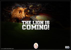 THE LION IS COMING! by BOArtt