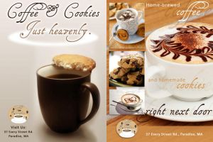 Coffee 'n Cookies Ads by jacquelynfisher