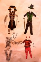 Costume Adoptables the 4th by chaosqueen122