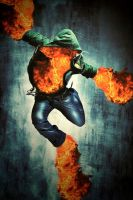 Fire Dance by dumbelek