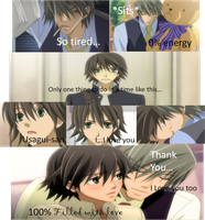 Junjou romantica I love you 2 by misstomboy99