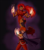 Fire Women by wbd