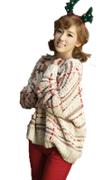 SNSD Taeyeon Christmas ~PNG~ by JaslynKpopPngs