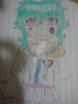 My First anime character by lucasel0